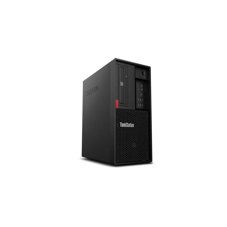 Lenovo ThinkStation P330 30C5S00C00 Workstation - 1 x Intel Xeon E-2144G 3.60 GHz - 32 GB DDR4 SDRAM - 1 TB HDD - 256 GB SSD - Windows 10 Pro for Workstations 64-bit - Tower