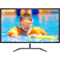 "Philips E-line 323E7QDAB 81.3 cm (32"") Full HD LED LCD Monitor - 16:9 - Glossy Black"