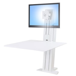 Ergotron WorkFit-SR Desk Mount for Monitor, Keyboard