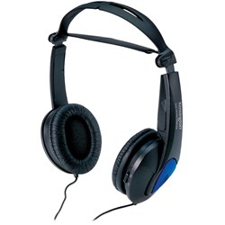 Kensington K33084 Wired Stereo Headphone - Over-the-head - Supra-aural - Black