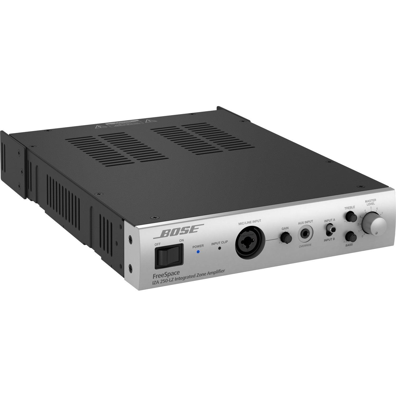 Bose FreeSpace IZA 250-LZ Amplifier - 100 W RMS - 2 Channel