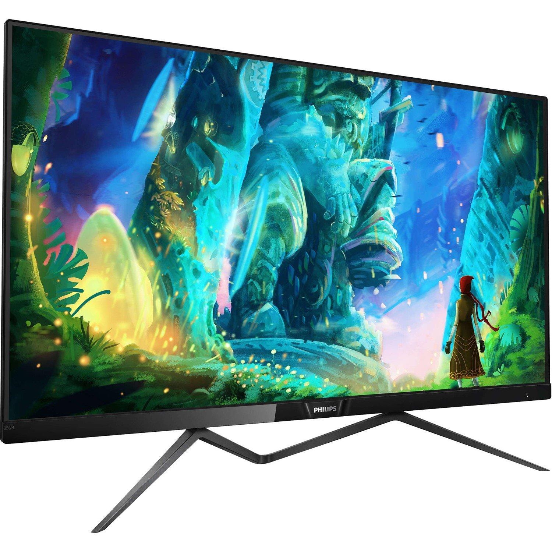"Philips M Line 356M6QJAB 87.9 cm (34.6"") WLED LCD Monitor - 16:9 - 5 ms"