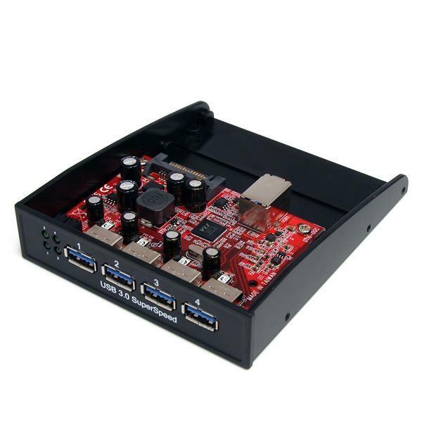 StarTech.com USB Hub - USB - Drive Bay