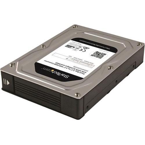 StarTech.com 2 x Total Bays DAS Storage System - Internal