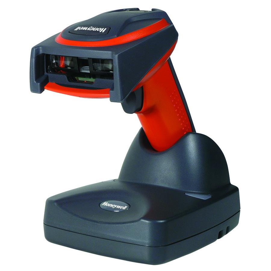 Honeywell 3820i Handheld Barcode Scanner - Wireless Connectivity - Orange