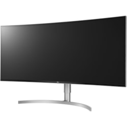 "LG Ultrawide 38WK95C-W 95.3 cm (37.5"") WQHD+ Curved Screen LED Gaming LCD Monitor - 21:9 - Silver, White"