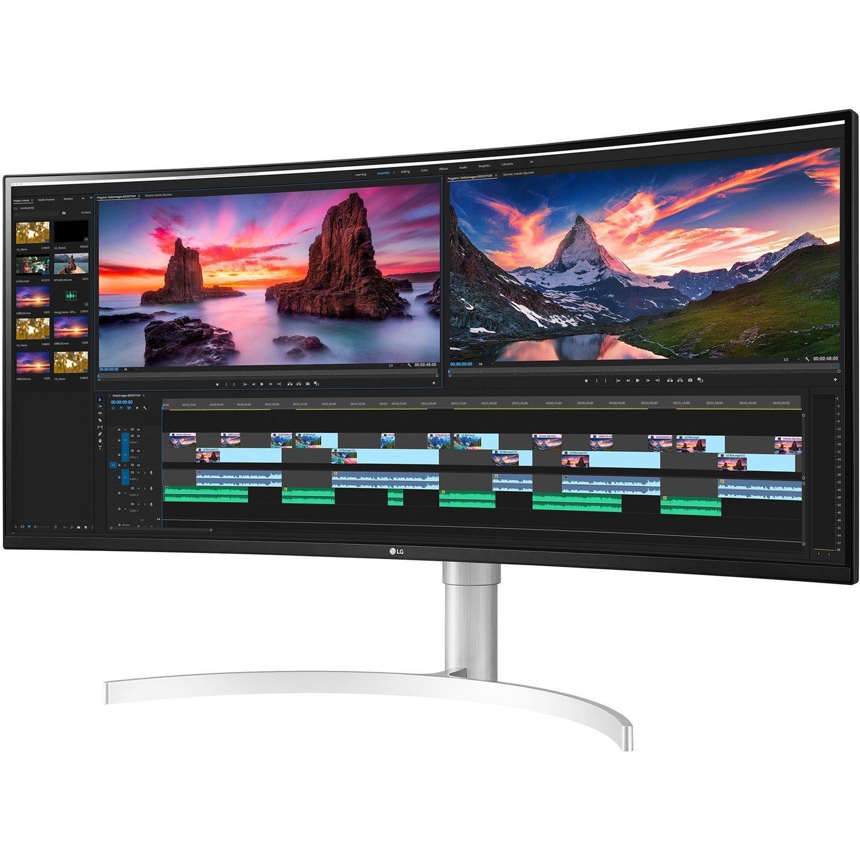 "LG Ultrawide 38WN95C-W 96.5 cm (38"") UW-QHD+ Curved Screen Gaming LCD Monitor - 21:9"