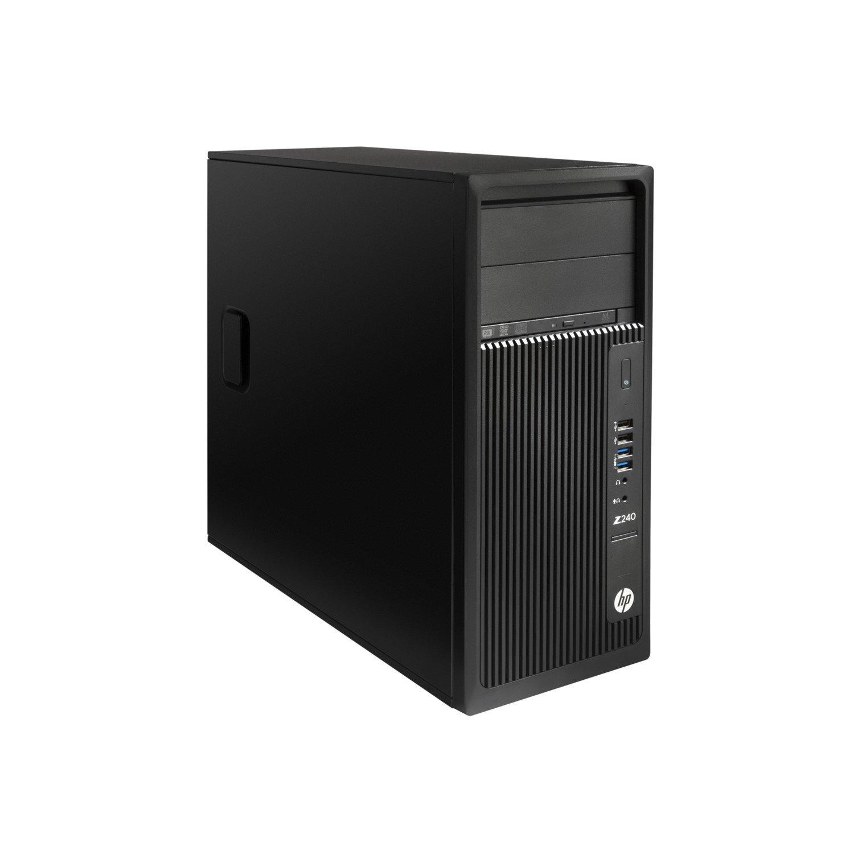 HP Z240 Workstation - 1 x Intel Core i7 (6th Gen) i7-6700 Quad-core (4 Core) 3.40 GHz - 16 GB DDR4 SDRAM - 256 GB SSDNVIDIA Quadro P2000 5 GB Graphics - Windows 7 Professional 64-bit upgradable to Windows 10 Pro - Tower