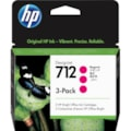 HP 712 Original Ink Cartridge - Magenta