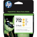 HP 712 Original Ink Cartridge - Yellow