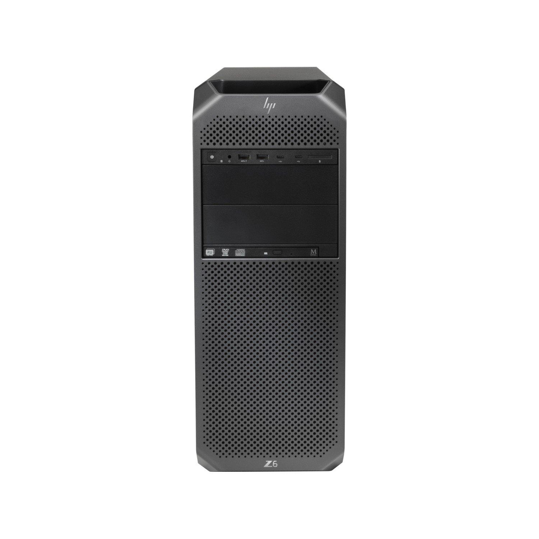 HP Z6 G4 Workstation - 1 x Intel Xeon Silver 4116 Dodeca-core (12 Core) 2.10 GHz - 32 GB DDR4 SDRAM - 256 GB SSD - NVIDIA Quadro P4000 8 GB Graphics - Windows 10 Pro 64-bit - Mini-tower - Black