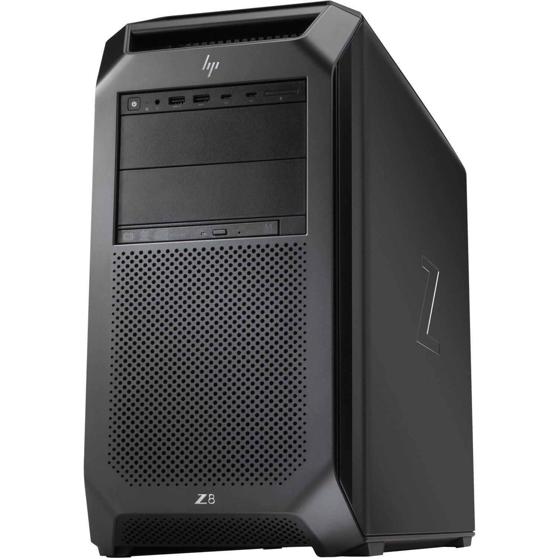 HP Z8 G4 Workstation - 1 x Intel Xeon Silver 4108 Octa-core (8 Core) 1.80 GHz - 32 GB DDR4 SDRAM - 512 GB SSDNVIDIA Quadro P2000 5 GB Graphics - Windows 10 Pro 64-bit - Mini-tower - Black