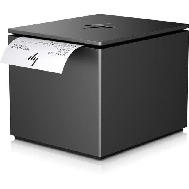 HP ElitePOS Direct Thermal Printer - Monochrome - Desktop - Receipt Print