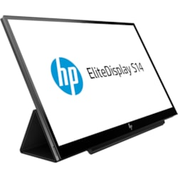 "HP Business S14 35.6 cm (14"") Full HD LED LCD Monitor - 16:9 - Ebony Black"