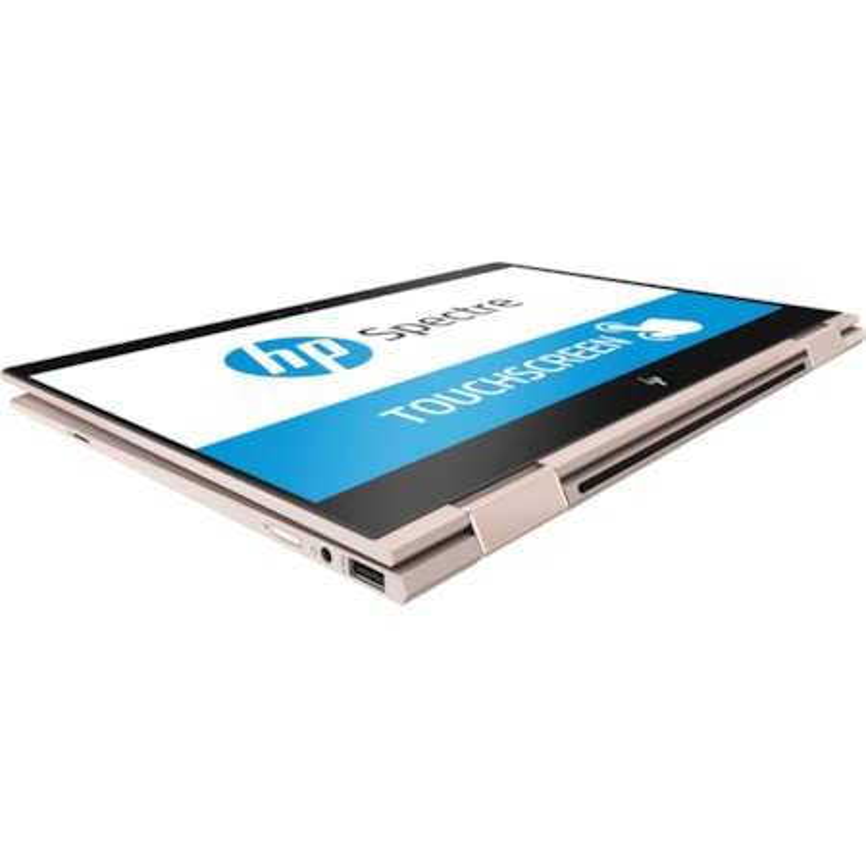 """HP Spectre x360 13-ae000 13-ae094tu 33.8 cm (13.3"""") Touchscreen LCD 2 in 1 Notebook - Intel Core i5 (8th Gen) i5-8250U Quad-core (4 Core) 1.60 GHz - 8 GB DDR3 SDRAM - 360 GB SSD - Windows 10 Home 64-bit - 1920 x 1080 - Convertible - Silver"""