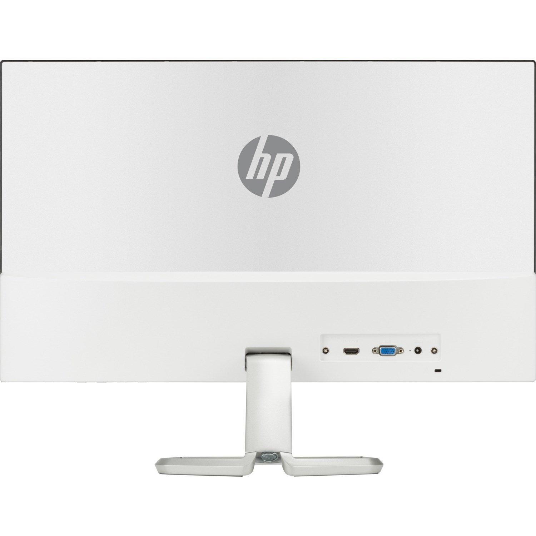 "HP 24fw 60.5 cm (23.8"") Full HD LED LCD Monitor - 16:9 - White"