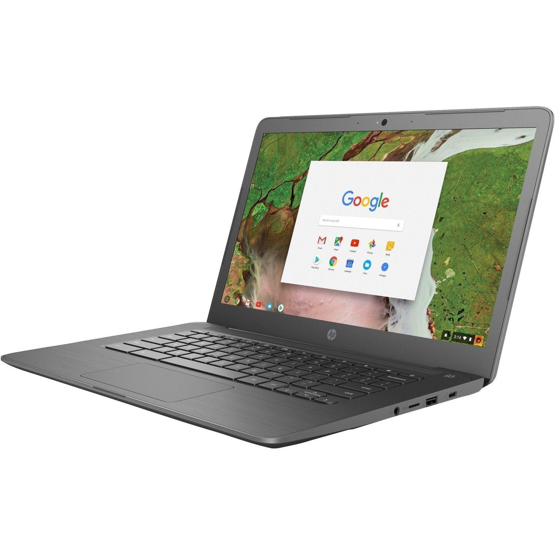 "HP Chromebook 14 G5 35.6 cm (14"") Chromebook - 1366 x 768 - Celeron N3350 - 4 GB RAM - 16 GB Flash Memory"