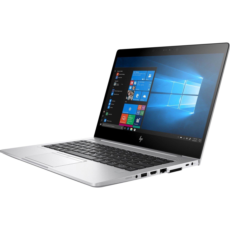 "HP EliteBook 830 G5 33.8 cm (13.3"") LCD Notebook - Intel Core i5 (8th Gen) i5-8350U Quad-core (4 Core) 1.70 GHz - 8 GB DDR4 SDRAM - 256 GB SSD - Windows 10 Pro 64-bit - 1920 x 1080 - In-plane Switching (IPS) Technology, Sure View"