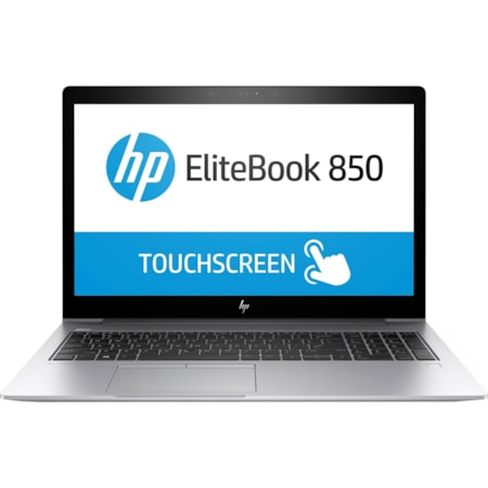 "HP EliteBook 850 G5 39.6 cm (15.6"") Touchscreen LCD Notebook - Intel Core i7 (8th Gen) i7-8650U Quad-core (4 Core) 1.90 GHz - 8 GB DDR4 SDRAM - 512 GB SSD - Windows 10 Pro 64-bit - 1920 x 1080 - In-plane Switching (IPS) Technology"