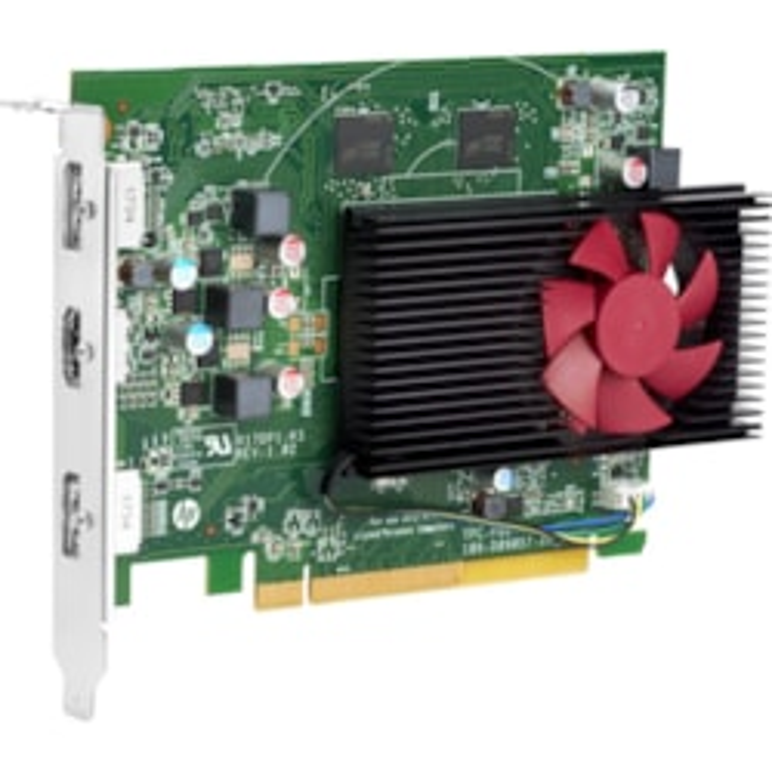 HP Radeon RX 550 Graphic Card - 4 GB GDDR5