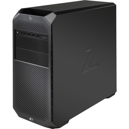 HP Z4 G4 Workstation - 1 x Xeon W-2133 - 32 GB RAM - 512 GB SSD - Mini-tower - Black