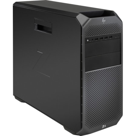 HP Z4 G4 Workstation - 1 x Xeon W-2125 - 16 GB RAM - 512 GB SSD - Mini-tower - Black