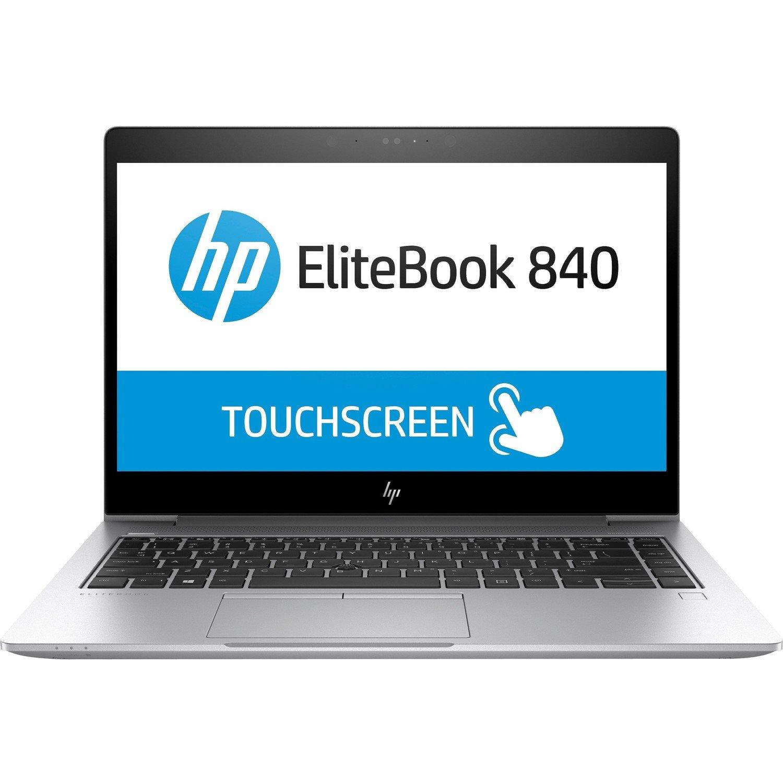 "HP EliteBook 840 G5 35.6 cm (14"") LCD Notebook - Intel Core i7 (8th Gen) i7-8650U Quad-core (4 Core) 1.90 GHz - 8 GB DDR4 SDRAM - 256 GB SSD - Windows 10 Pro 64-bit - 1920 x 1080 - In-plane Switching (IPS) Technology"