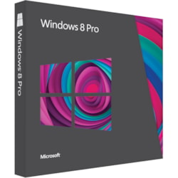 Microsoft Windows 8 Pro 32/64-bit - Version Upgrade - 1 PC - Standard