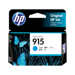 HP 915 Ink Cartridge - Cyan