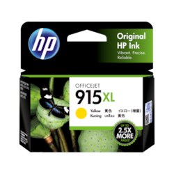 HP 915XL Ink Cartridge - Yellow