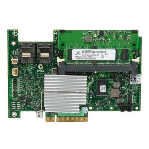 Dell H730 SAS Controller - 12Gb/s SAS, Serial ATA/600 - PCI Express 3.0 x8 - 1 GB NV Cache - Plug-in Card