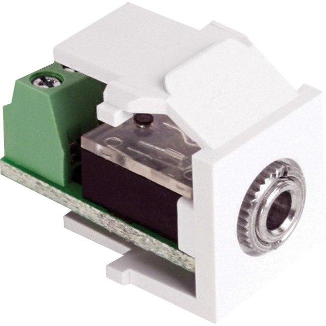 Leviton QuickPort 40839-SWS Audio Connector - 1 Pack