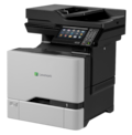 Lexmark CX725dhe Laser Multifunction Printer - Colour - Plain Paper Print - Desktop
