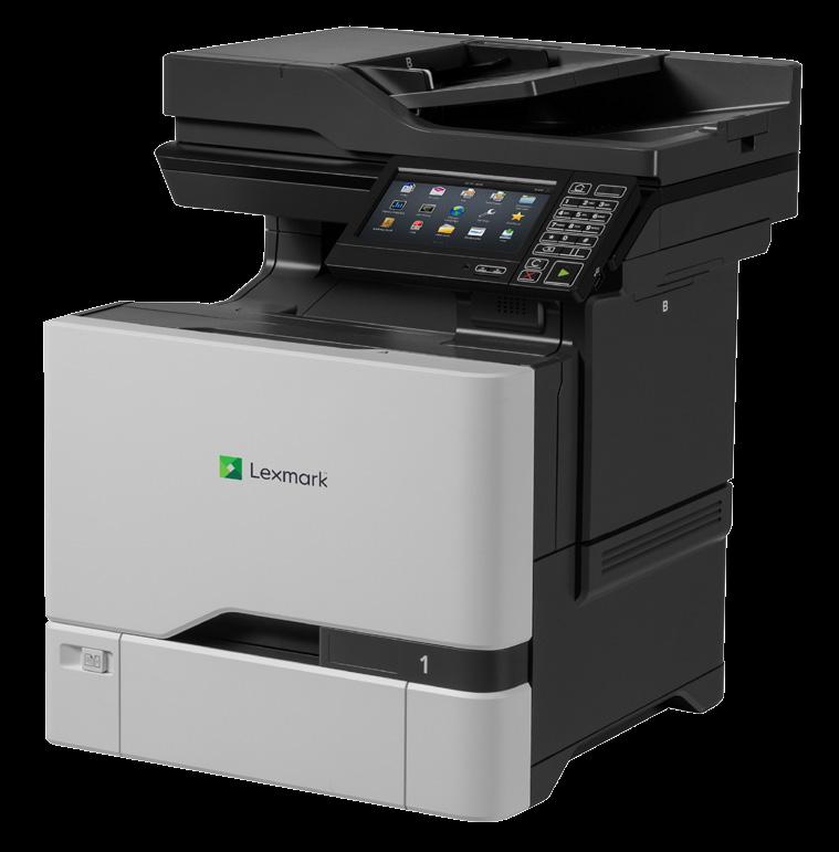 Lexmark CX725 CX725dhe Laser Multifunction Printer - Colour