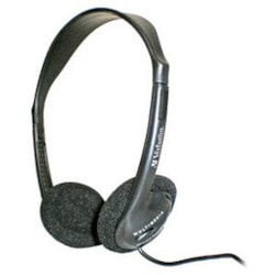 Verbatim 41645 Wired Stereo Headphone - Over-the-head - Semi-open
