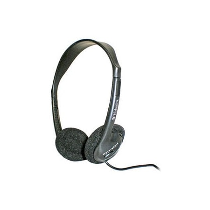Verbatim 41645 Wired Stereo Headphone - Over-the-head - Semi-open