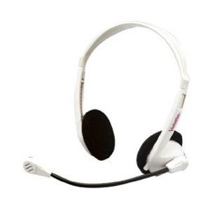 Verbatim 41646 Wired Headset - Over-the-head - Semi-open