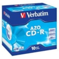 Verbatim CD Recordable Media - CD-R - 52x - 700 MB - 10 Pack Jewel Case