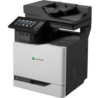 Lexmark CX860de Laser Multifunction Printer - Colour - Plain Paper Print - Desktop