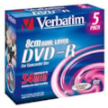 Verbatim 43631 DVD Recordable Media - DVD-R DL - 4x - 2.60 GB - 5 Pack Jewel Case