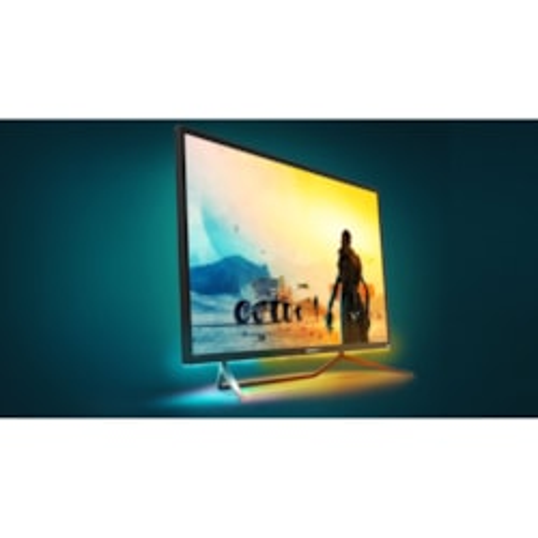 "Philips Momentum 436M6VBPAB 108 cm (42.5"") 4K UHD WLED Gaming LCD Monitor - 16:9 - Textured Black, Glossy Black"