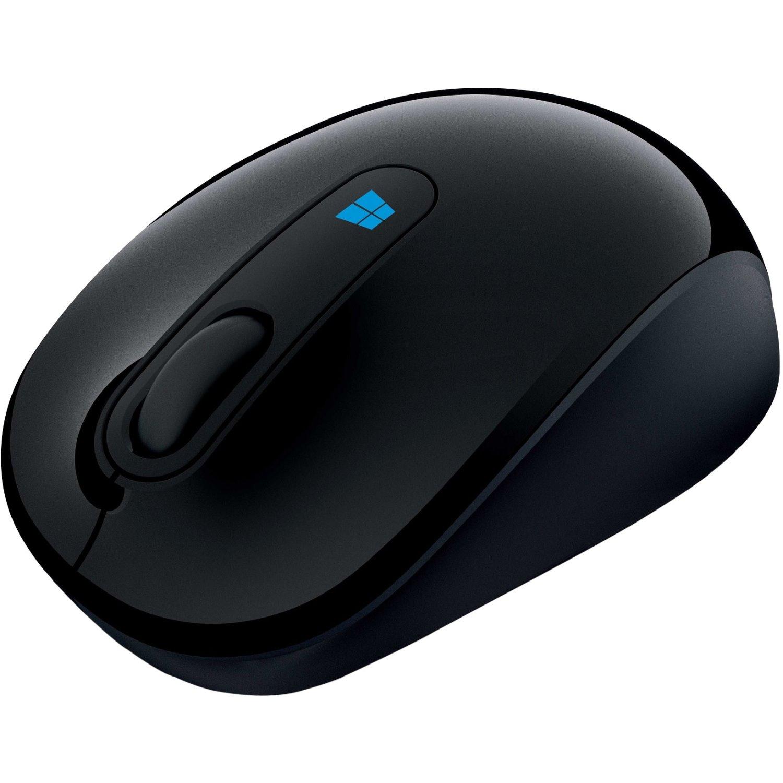 Microsoft Sculpt Mobile Mouse - Radio Frequency - USB 2.0 - BlueTrack - 3 Button(s) - Black