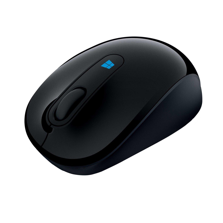 Microsoft Sculpt Mobile Mouse - BlueTrack - Wireless - 3 Button(s) - Black