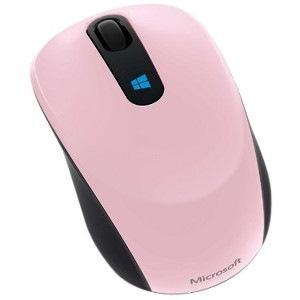 Microsoft Sculpt Mobile Mouse - BlueTrack - Wireless - 3 Button(s) - Light Orchid