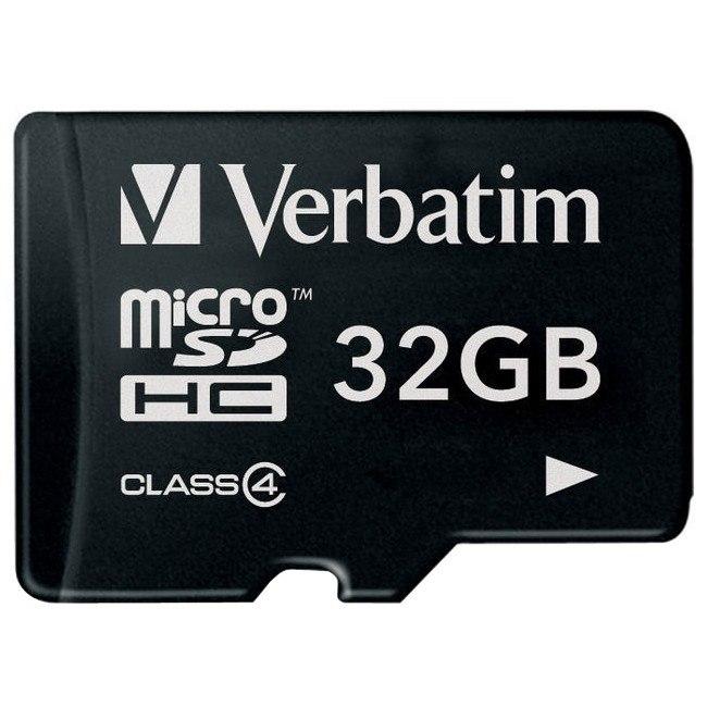 Verbatim 44008 32 GB microSDHC
