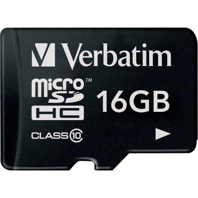 Verbatim 44010 16 GB Class 10 microSDHC