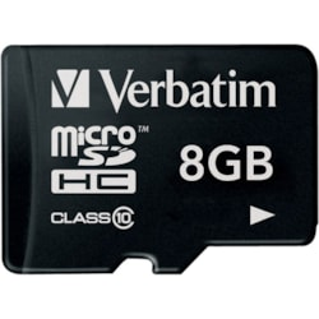 Verbatim 44012 8 GB Class 10 microSDHC