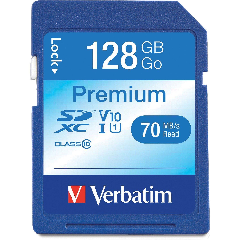 Verbatim Premium 128 GB SDXC - TAA Compliant