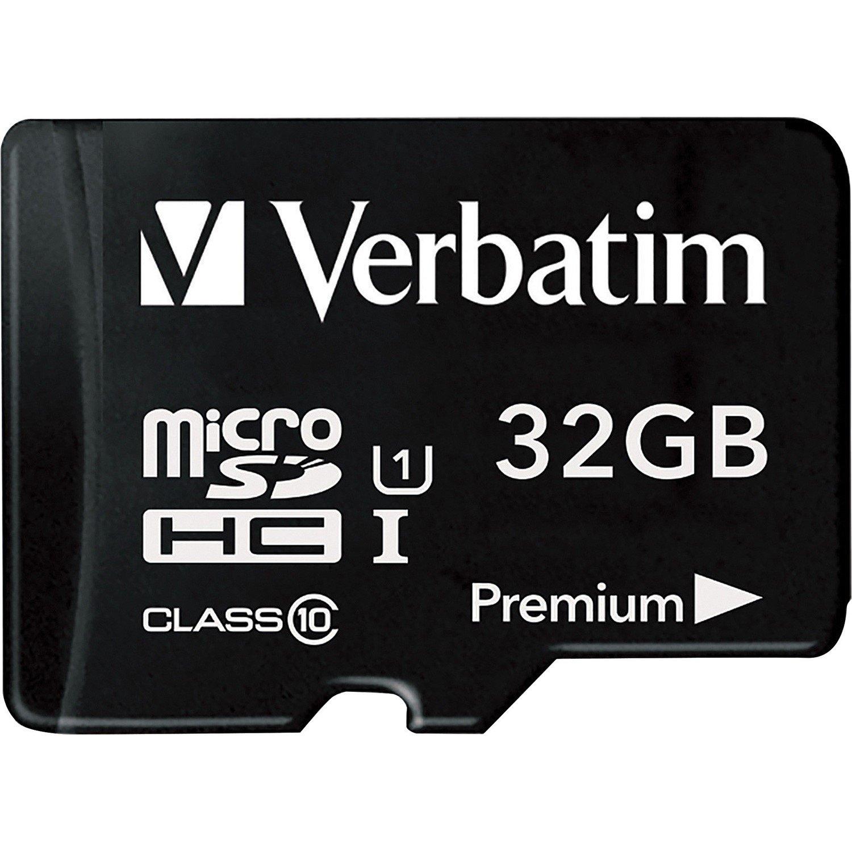 Verbatim 32 GB Class 10/UHS-I (U1) microSDHC - TAA Compliant