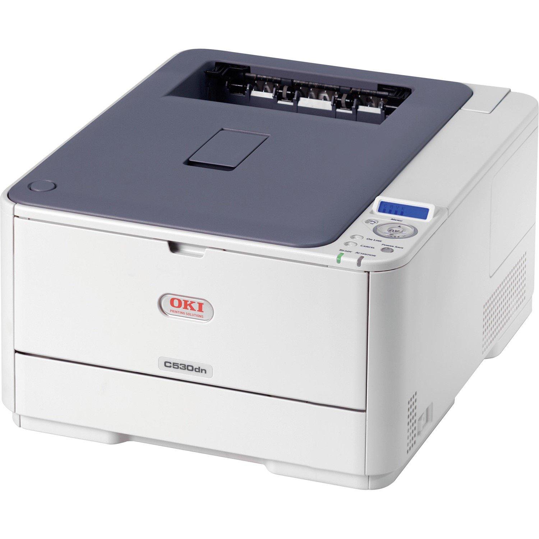 Oki C500 C530DN LED Printer - Colour - 1200 x 600 dpi Print - Plain Paper Print - Desktop